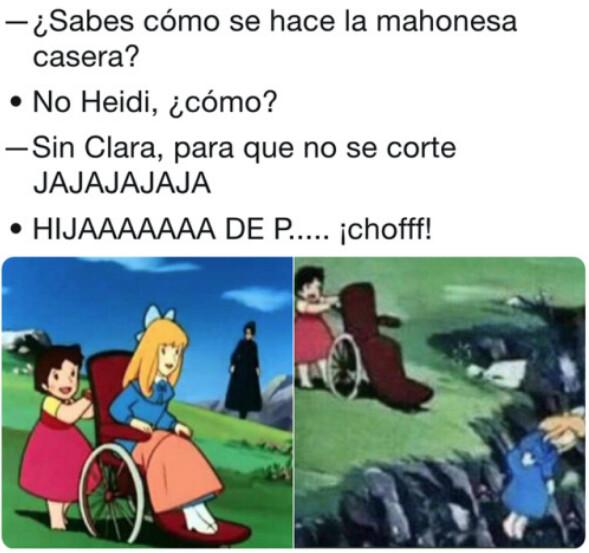 Meme_otros - Heidi es bien chistosa