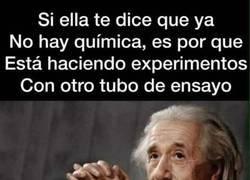 Enlace a Albert Einstein sabe bien lo que decía