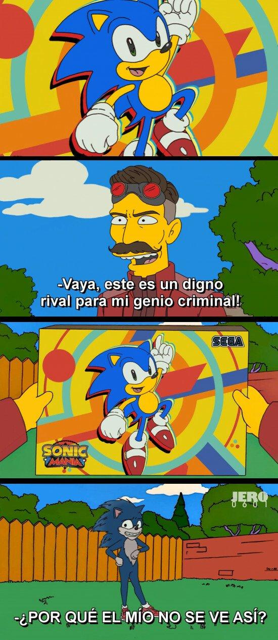Otros - Un Sonic totalmente deforme