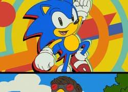Enlace a Un Sonic totalmente deforme