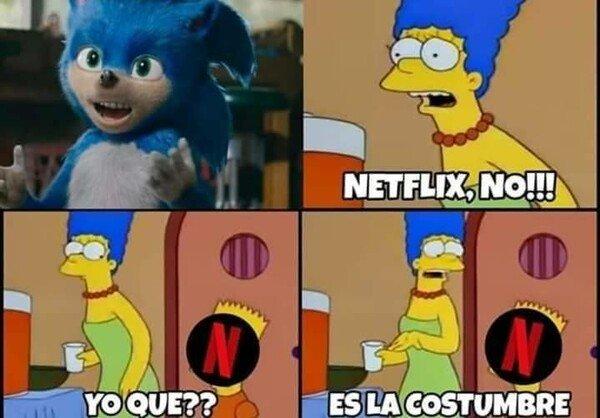 Meme_otros - Por una vez no fue Netflix