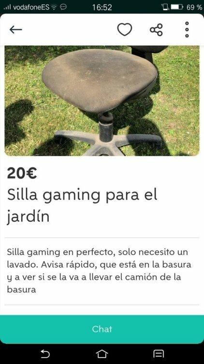 Meme_otros - La silla gamer