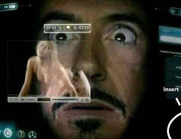 Meme_otros - Iron Man se descontroló