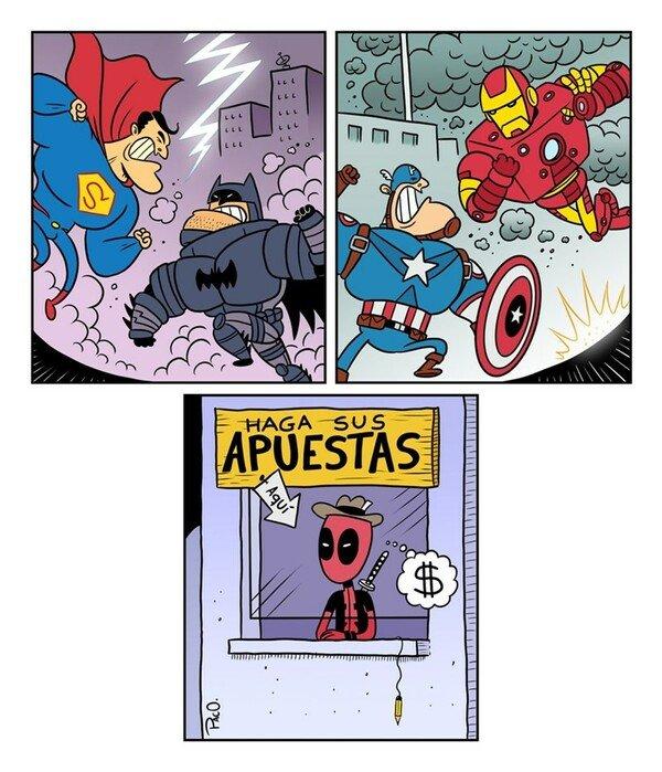 Otros - Deadpool es el más listo de todos