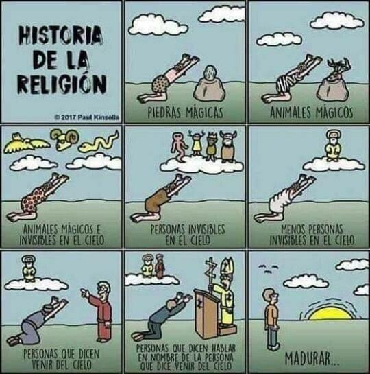 Otros - Evolución de las creencias