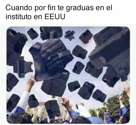 Meme_otros - Graduación en USA