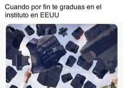 Enlace a Graduación en USA