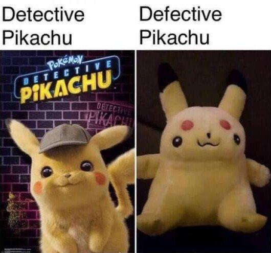 Meme_otros - Derp Pikachu