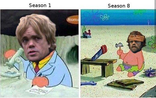 Otros - Temporada 1 vs Temporada 8