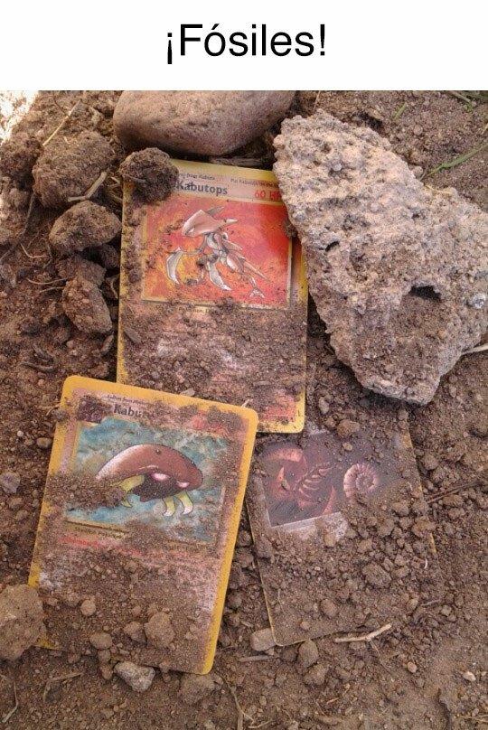 Meme_otros - He encontrado fósiles