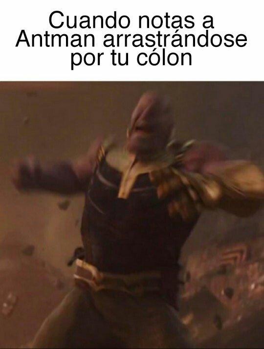Meme_otros - Antman, por ahí no...