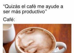 Enlace a A veces ni el café ayuda