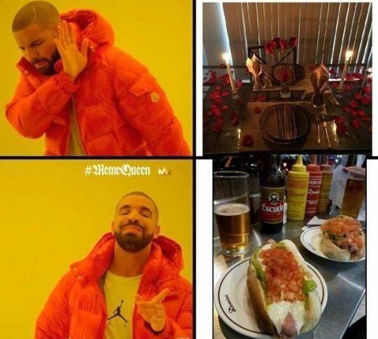 Meme_otros - La comida ''guarra'' es la mejor
