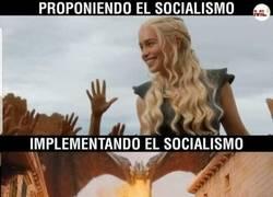 Enlace a Socialismo, antes y después