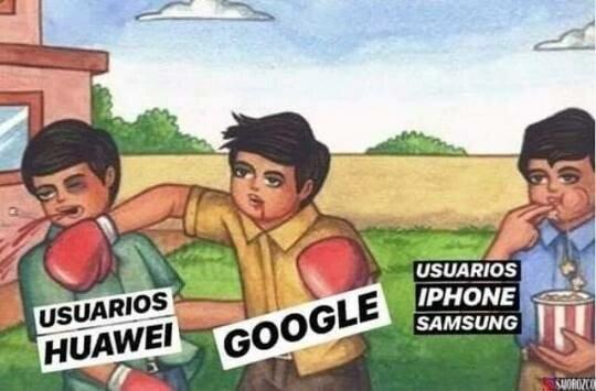 Meme_otros - Huawei vs Google
