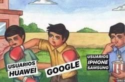 Enlace a Huawei vs Google