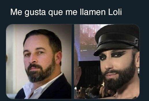 Meme_otros - La doble vida de Santiago Abascal