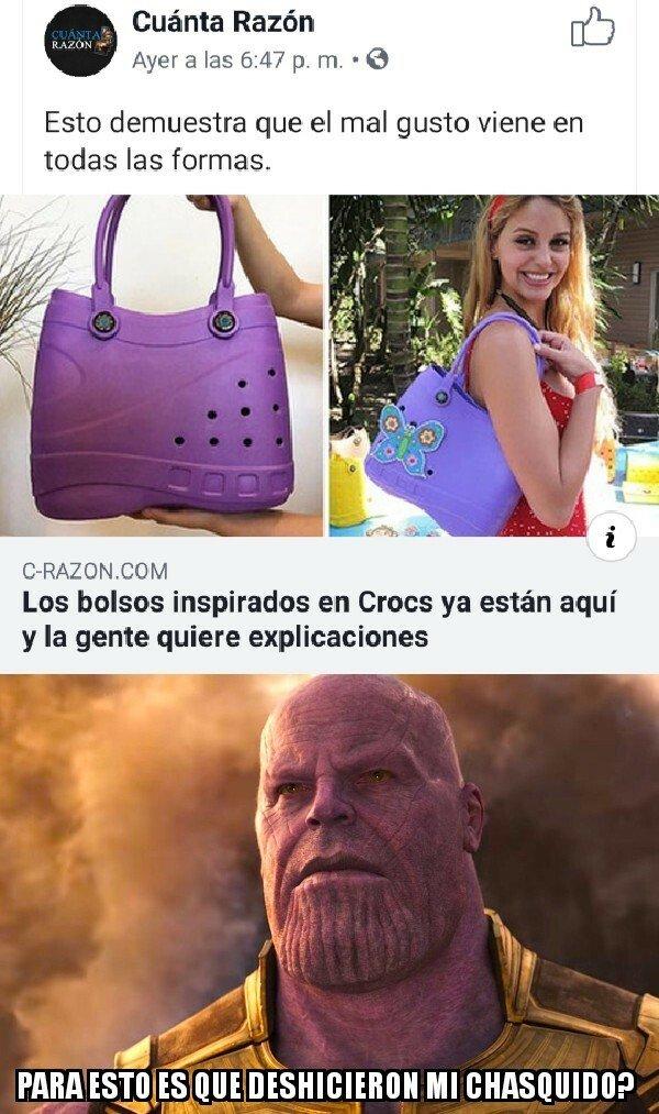 Meme_otros - Con Thanos esto no habría pasado...
