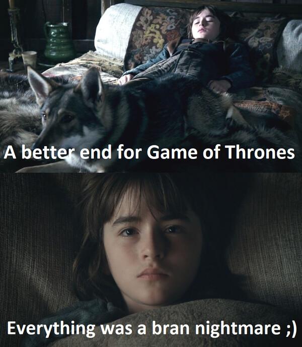 Meme_otros - Un mejor final para juego de tronos