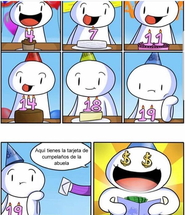 Otros - ¿Tarta? ¡Dinero!