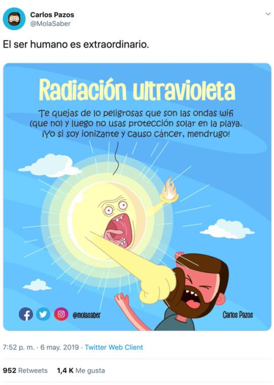 Otros - Radiación ultraviolenta