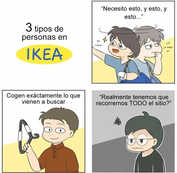 Otros - Tipos de personas en el Ikea