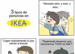 Enlace a Tipos de personas en el Ikea