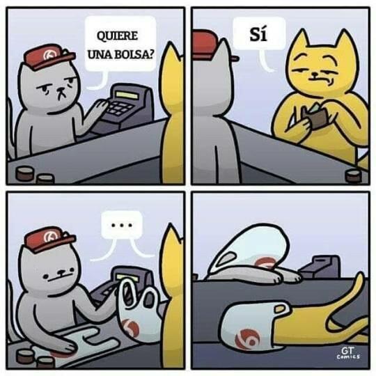Otros - ¿Quiere bolsa?