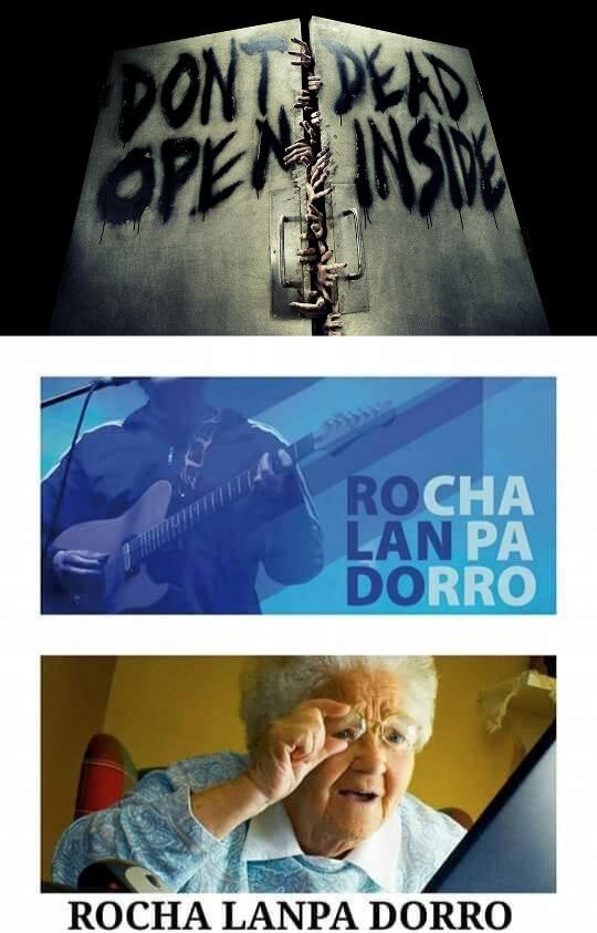 Meme_otros - Rocha Lampa Dorro