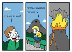 Enlace a ¡El suelo es lava!