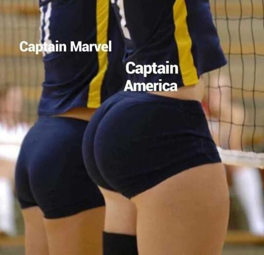 Meme_otros - Capitana marvel vs capitan america