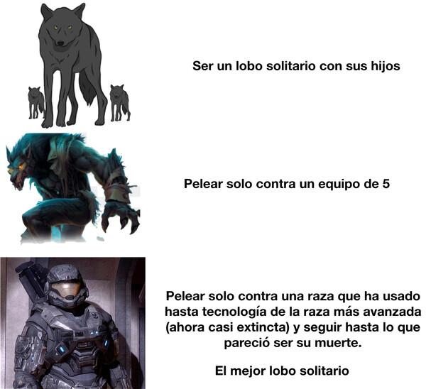 Meme_otros - Subir de nivel en modo lobo solitario