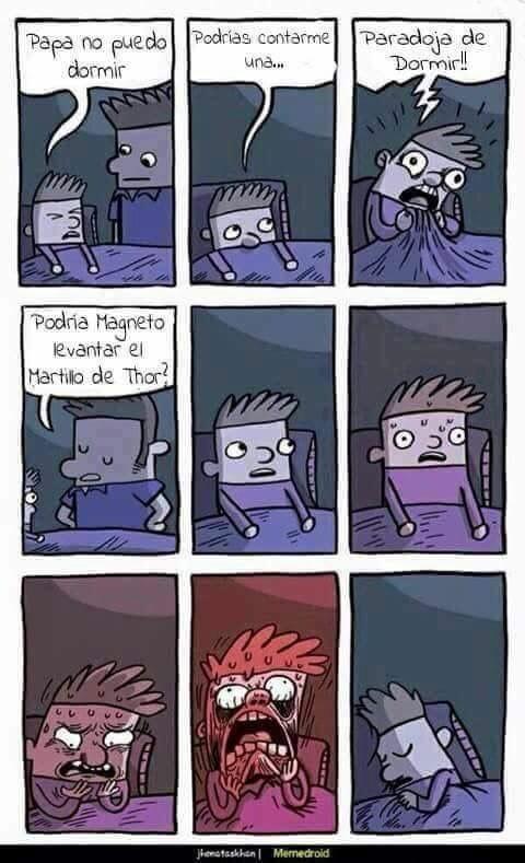 Otros - Paradoja de dormir