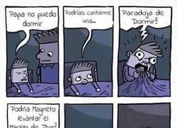 Enlace a Paradoja de dormir