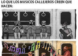 Enlace a Músicos callejeros