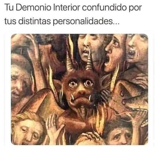 Meme_otros - Personalidad múltiple