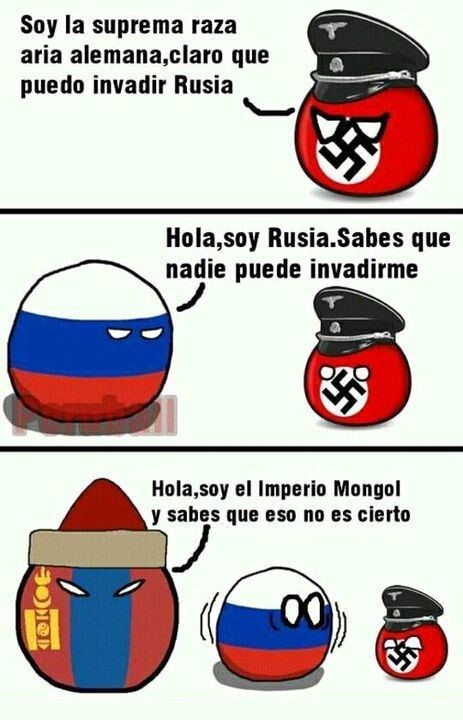 Otros - Cuidado Rusia, aquí vienen los mongoles