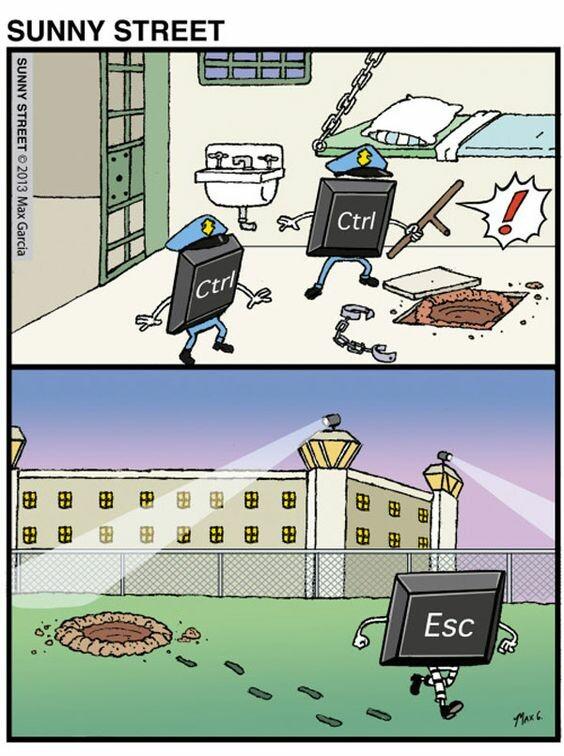 Otros - Ctrl + Ctrl - Esc = Desastre