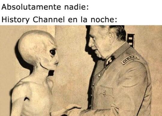 Meme_otros - Es más, nosotros somos aliens y aún no lo sabemos