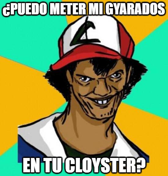 Meme_otros - A Ash le gusta el veraneo