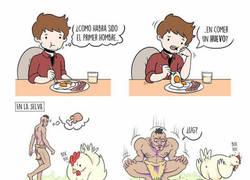 Enlace a ¿Cómo se comió el primer huevo?