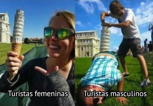 Meme_otros - Tipos de turistas