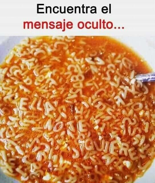 Meme_otros - La sopa de letras de la fortuna