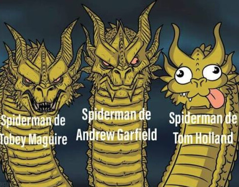 Meme_otros - Historia de los Spider-man de hollywood