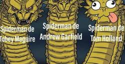 Enlace a Historia de los Spider-man de hollywood