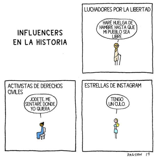 Otros - Influencers en la historia