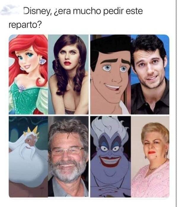 Meme_otros - No era tan dificil, Disney...