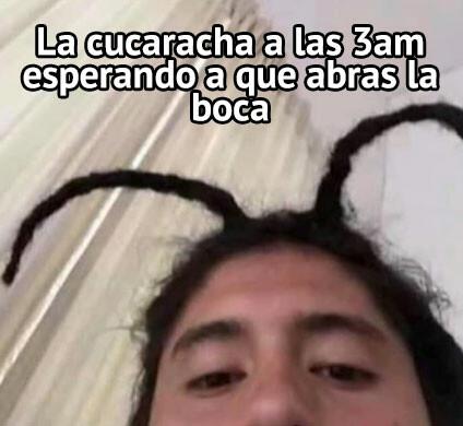 Meme_otros - La cucaracha ya no quiere caminar