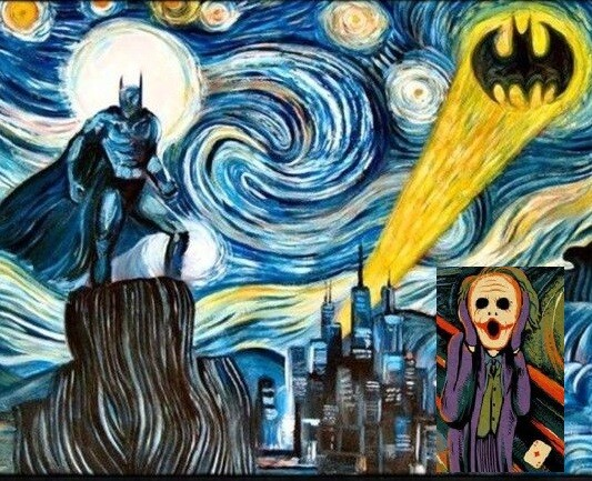 Joker - STARRRY NIGHT BATMAN