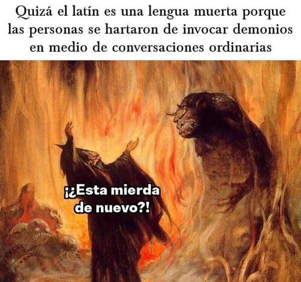 Meme_otros - Sumonear demonios como deporte olímpico